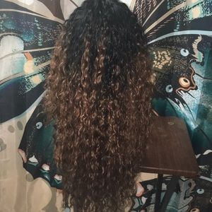 Noble lace front wig